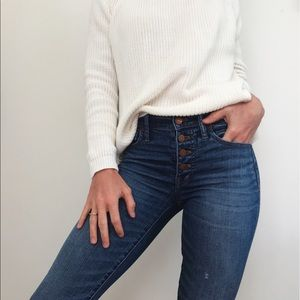Madewell button-fly Jeans